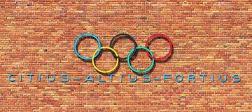 Olympische muur sur Dennis van de Water