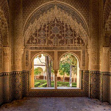 Alhambra de Granada, Mirador de Daraxa. van Hennnie Keeris