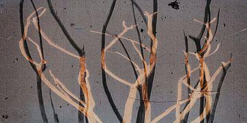 Les feuilles sont tombées sur Christine Nöhmeier