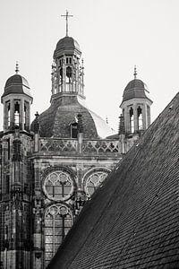 Een close-up van het heilige dak van de Sint-Jan i Den Bosch