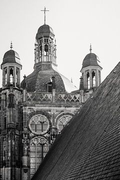 Eine Nahaufnahme des heiligen Daches von St. John's von mooidenbosch