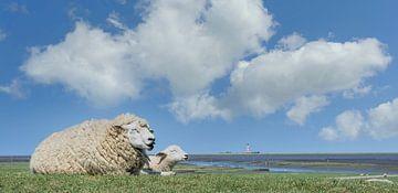 Noord-Frieslandse idylle van Peter Eckert
