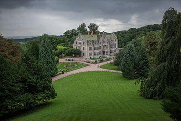 Adembenemend kasteelterrein in Altenstein Park van Oliver Hlavaty