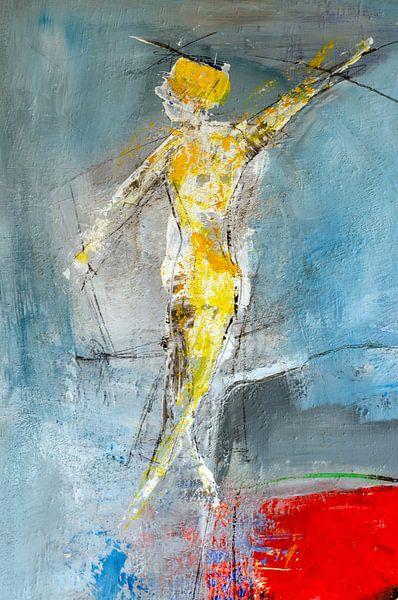 Dans van het leven (Detail III) van Alfred Eggensperger