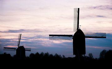 Mühle in Heusden von Anouschka Hendriks