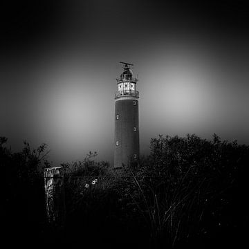 Leuchtturm von Texel von Dick Jeukens