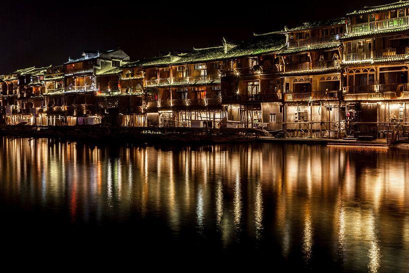 Fenghuang reflectie van Albert Mendelewski