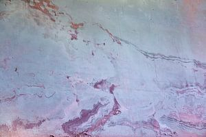 Urbane Wand - rosa und blau