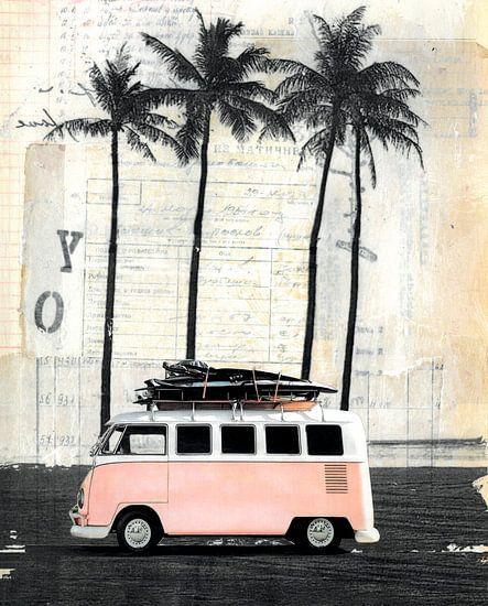 Bestelwagen en Palm