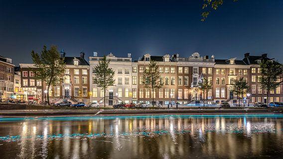 Herengracht - waar ging de kanaalboot heen? van Rene Siebring