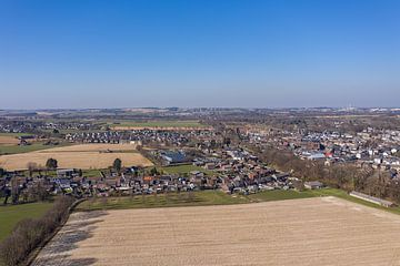 Luchtfoto van Bocholtz in Zuid-Limburg