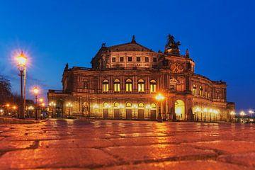 Semper Opera House, Dresden van