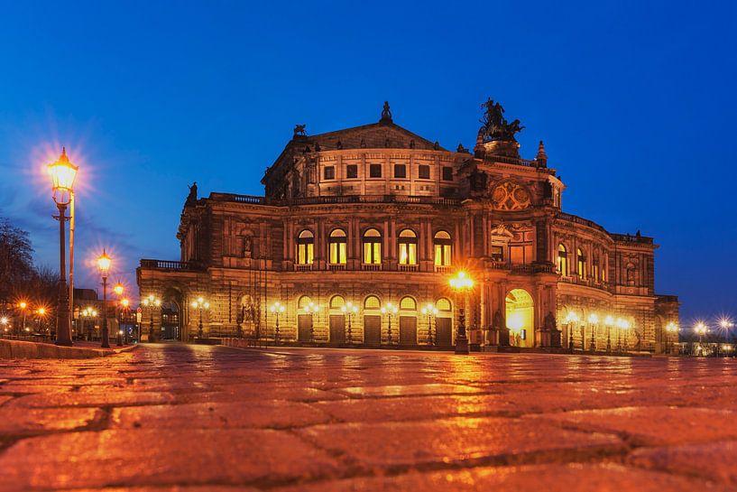 Semper Opera House, Dresden van Gunter Kirsch