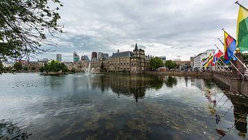 Hofvijver Den Haag  van
