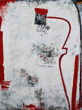 Schwarz rote Phantasie 2 von Klaus Heidecker