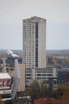 De Admirant en het Philips Stadion in Eindhoven van Lau de Winter
