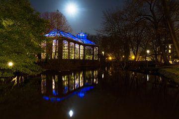 Hortus Amsterdam volle maan van Dennis van de Water