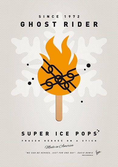 My SUPERHERO ICE POP - Ghost Rider van Chungkong Art