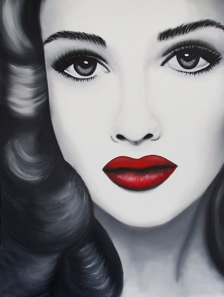 Emma popart portret van anja verbruggen