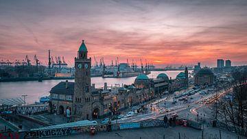 Landungsbrücken Hamburg von Steffen Peters