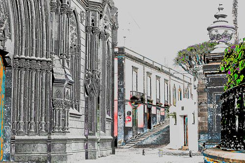Italiaanse straat van