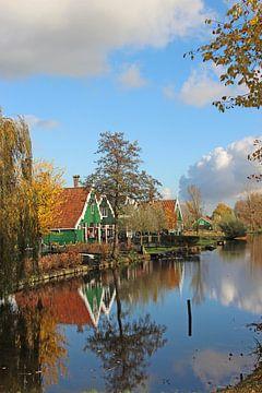 Hollandse huisjes van Wilma Overwijn