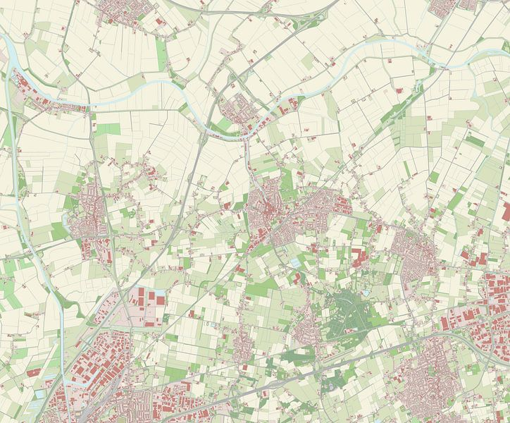 Kaart vanHalderberge