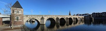 St.Servaas-Brücke in Maastricht von John Kerkhofs