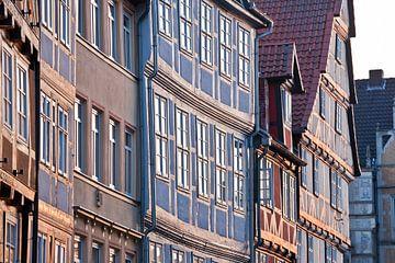Historische vakwerkhuizen in Hannover van Werner Dieterich