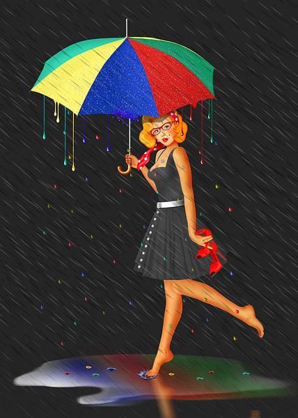 Mijn leven is kleurrijk van Monika Jüngling