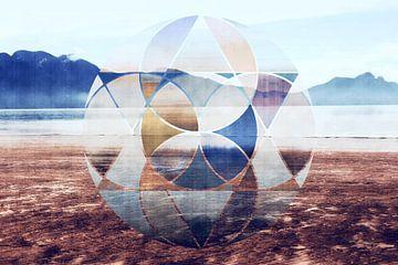 Geometric landscape van