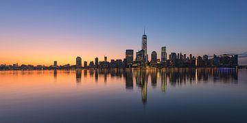 New York Panorama von Robin Oelschlegel