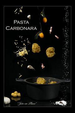 """""""Jette"""" en Place voor Pasta Carbonara van Charlotte Serrarens"""