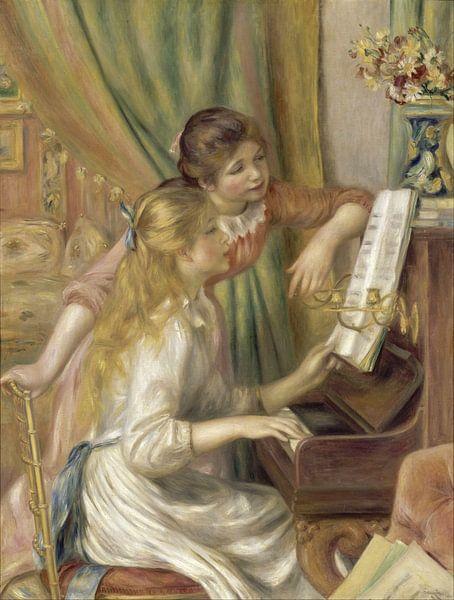 Meisjes bij de piano, Auguste Renoir - 1892 van Het Archief