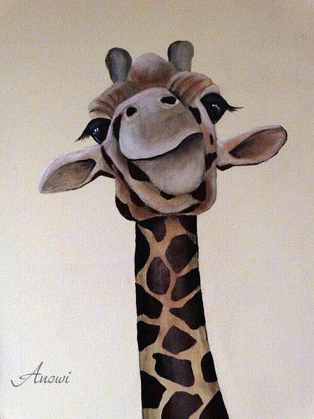 Giraf - Ik zie, ik zie wat jij niet ziet van Iwona Sdunek alias ANOWI