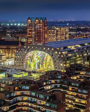 Die Markthalle in Rotterdam von Annette Roijaards