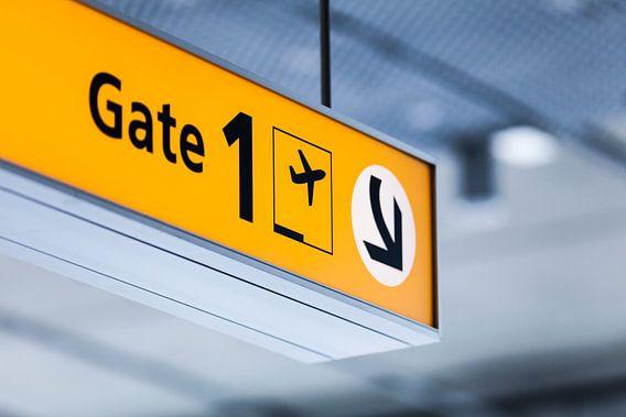 Vliegveld Eindhoven Airport van Bart van Eijden