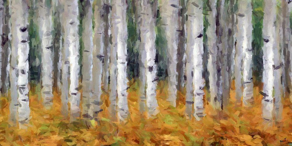berk abstract van Marion Tenbergen