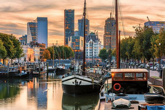 Good mood in Rotterdam