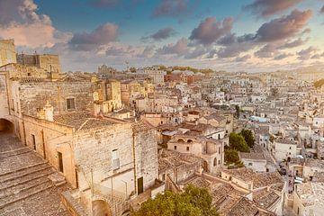 Oude stad Matera, Italië van Sjouke Hietkamp