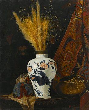 Blumen in einer Vase, Osman Hamdi Bey