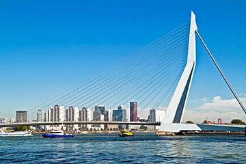 Erasmus brug in de Rotterdamse haven van Nisangha Masselink