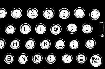 Old School - Remmington Schreibmaschine von Carla Broekhuizen