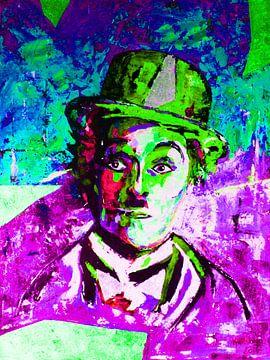 Charlie Chaplin von Kathleen Artist Fine Art