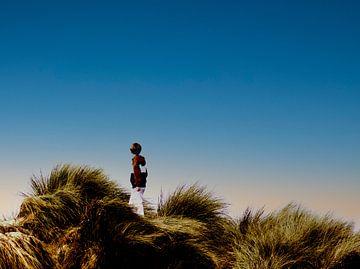 Jongetje in de Duinen van Lynlabiephotography