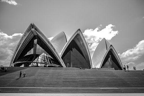 Opera House , Sydney , Australië van Jan-Hessel Boermans
