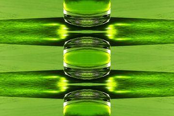 Groen glas van Corina Scheepers-de Mooij