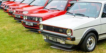 Volkswagen Golf GTI Fließheck-Sportwagen Modellgeschichte von Sjoerd van der Wal