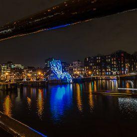 Lichtfestival Amsterdam 2016 van Boris de Weijer