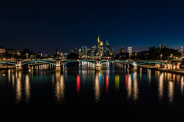 Floßerbrücke, Frankfurt am Main van Werner Lerooy